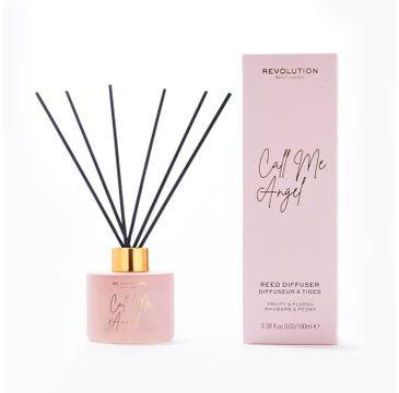 Makeup Revolution –  Beauty Dyfuzor zapachowy do pomieszczeń Call Me Angel - patyczki+olejek (100 ml)