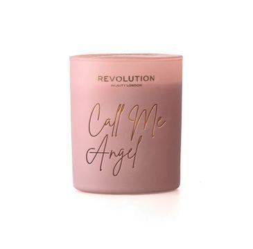 Makeup Revolution – Beauty Świeca zapachowa Call Me Angel (200 g)