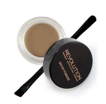 Makeup Revolution Brow Pomade pomada do brwi Blonde (2.5 g)