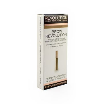Makeup Revolution Brow Revolution – żel do brwi Auburn (3.8 g)