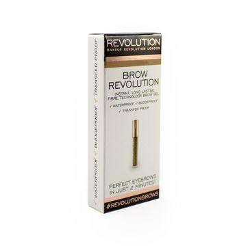Makeup Revolution Brow Revolution żel do brwi Auburn (3.8 g)