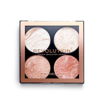 Makeup Revolution Cheek Kit Take a Breather – zestaw pudrów do konturowania (1 szt.)