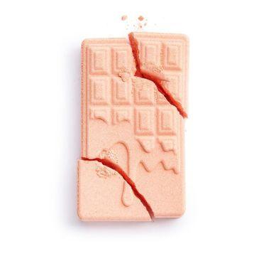 Makeup Revolution Chocolate Bar Bath Fizzer Peach kula do kąpieli (1 szt.)
