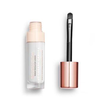 Makeup Revolution Cut Crease Canvas baza pod cienie do powiek Halo White (4,5 ml)