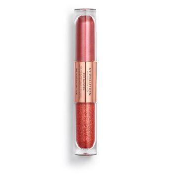 Makeup Revolution Eye Glisten – podwójny cień w płynie Desired (2.2 ml)