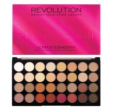 Makeup Revolution Flawless 3 Resurrection – paleta 32 cieni do powiek (16 g)