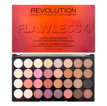 Makeup Revolution Palette Flawless 4 – paleta cieni do powiek (1 szt.)