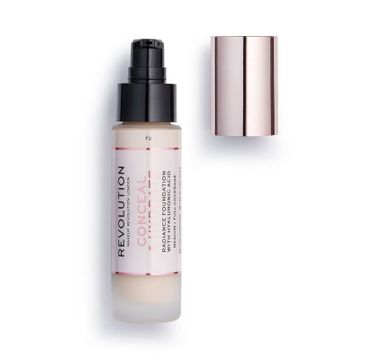Makeup Revolution Conceal & Hydrate Foundation – podkład do twarzy F2 (23 ml)