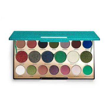 Makeup Revolution Precious Stone paleta cieni do powiek Emerald (1 szt.)