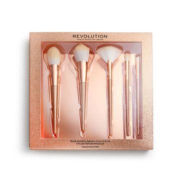 Makeup Revolution – Precious Stone Zestaw pędzli Rose Quart (1 szt.)