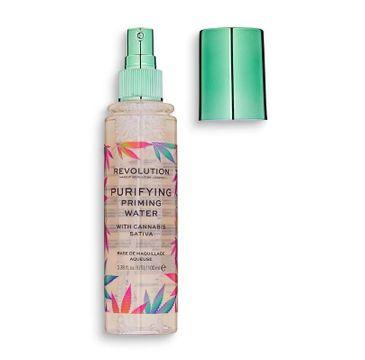 Makeup Revolution Priming Water With Cannabis Sativa – baza pod makijaż (100 ml)