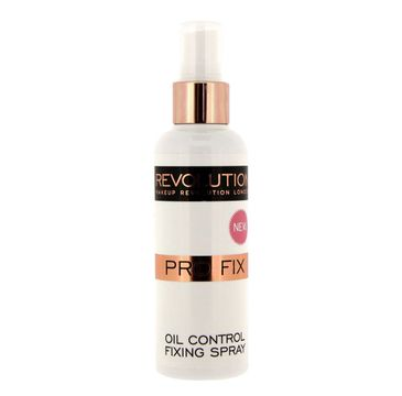 Makeup Revolution Pro Fix Oil Control Fixing Spray – utrwalacz do makijażu twarzy (100 ml)