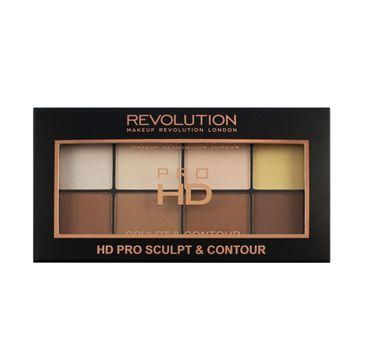 Makeup Revolution Pro HD Sculpt & Contour Palette – zestaw do konturowania twarzy (1 szt.)