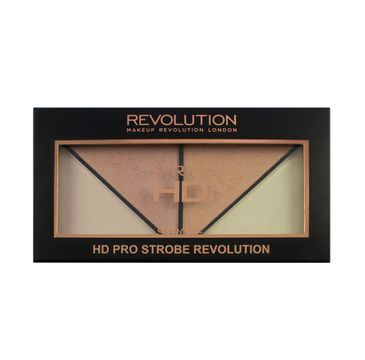 Makeup Revolution Pro HD Strobe Revolution Palette – paleta rozświetlaczy do strobingu (1 szt.)