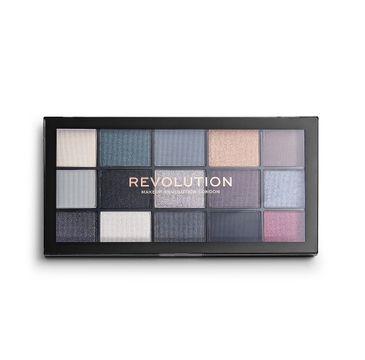 Makeup Revolution – Reloaded Blackout paleta 15 cieni do powiek (1 szt.)