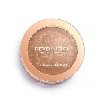 Makeup Revolution Reloaded – bronzer do twarzy Long Weekend (15 g)