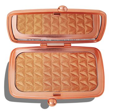 Makeup Revolution Renaissance Illuminate Highlighter Palette – paleta rozświetlaczy do twarzy Blissful Bronze (14 g)