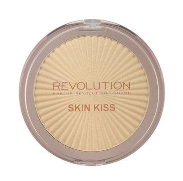 Makeup Revolution Skin Kiss - rozświetlacz do twarzy Golden Kiss (14 g)