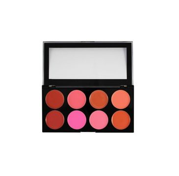 Makeup Revolution Ultra Blush Palette - paleta kremowych róży do policzków Blush Melts (13 g)