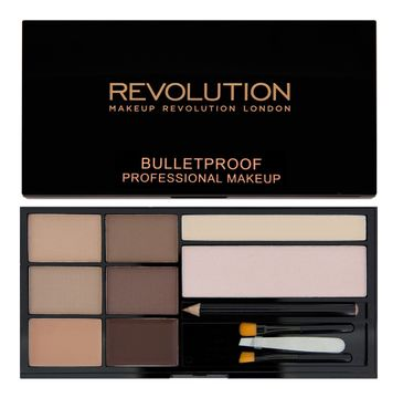 Makeup Revolution Ultra Brow Fair to Medium - zestaw do stylizacji brwi (1 op.)