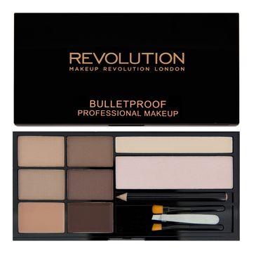Makeup Revolution Ultra Brow Fair to Medium - zestaw do stylizacji brwi (1 op.)