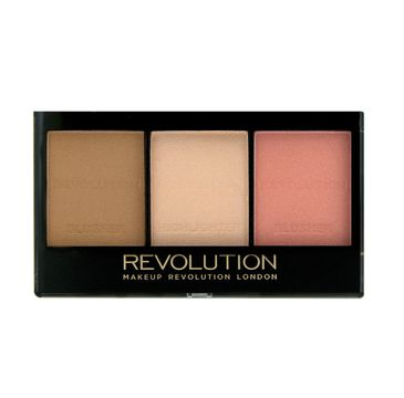 Makeup Revolution Ultra Sculp & Contour Kit - zestaw do korygowania twarzy Fair C01 (11 g)