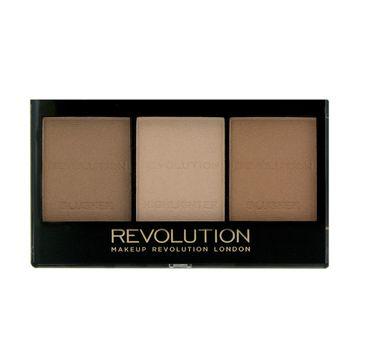 Makeup Revolution Ultra Sculpt & Contour Kit - zestaw do korygowania twarzy Light-Medium C04 (11 g)