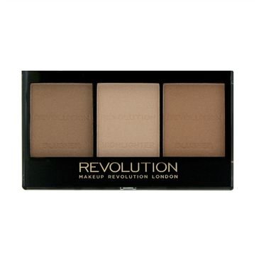 Makeup Revolution Ultra Sculpt & Contour Kit - zestaw do korygowania twarzy Light-Medium C04 (11 g)