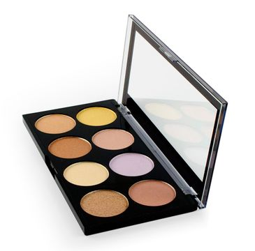 Makeup Revolution Ultra Strobe and Light Palette - zestaw do konturowania twarzy (15 g)