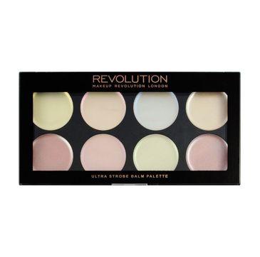 Makeup Revolution Ultra Strobe Balm Palette - paleta kremowych rozświetlaczy (12 g)