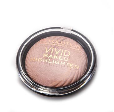 Makeup Revolution Vivid Baked - rozświetlacz do twarzy Peach Lights (7.5 g)