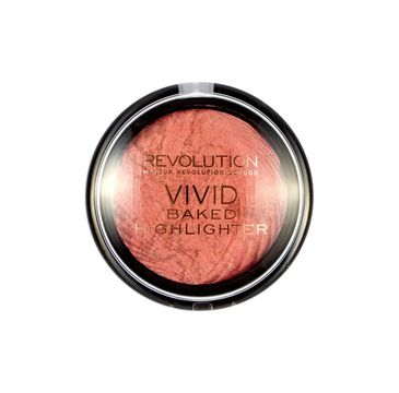 Makeup Revolution Vivid Baked  Rose Gold Lights Rozświetlacz do twarzy 7.5 g