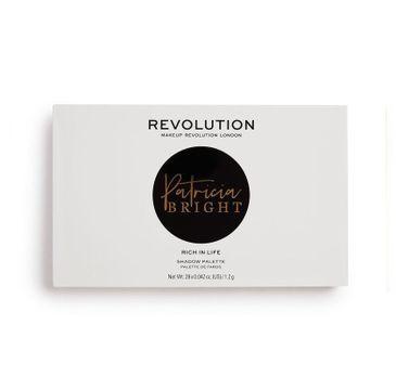 Makeup Revolution X Patricia Bright Rich in Life – paleta cieni do oczu (1 szt.)