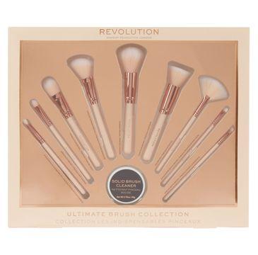 Makeup Revolution Ultimate Brush Collection - zestaw pędzli do makijażu (1 op.)