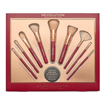 Makeup Revolution Ultimate Brush Collection – zestaw pędzli do makijażu (1 szt.)