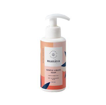 Manaya Gentle Liquid Soap mydło do rąk w płynie z olejem konopnym (200 ml)