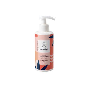 Manaya Hair Conditioner odżywka do włosów suchych i osłabionych z olejem konopnym (250 ml)