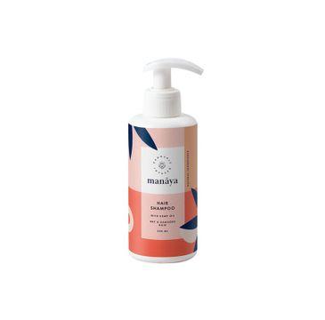 Manaya Hair Shampoo szampon do włosów suchych i zniszczonych z olejem konopnym (250 ml)