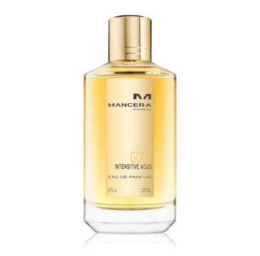 Mancera Gold Intensitive Aoud woda perfumowana spray 120ml