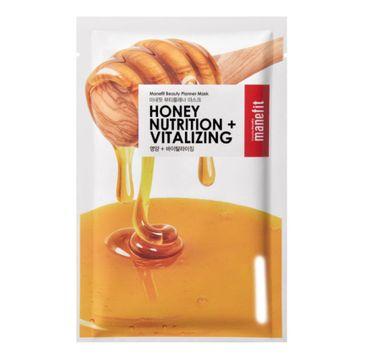 Manefit Beauty Planner Mask Nutrition + Vitalizing Mask odżywcza maseczka w płachcie Honey 20ml