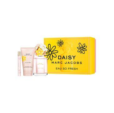 Marc Jacobs Daisy Eau So Fresh zestaw woda toaletowa spray 125ml + miniatura wody toaletowej spray 10ml + balsam do ciała 150ml