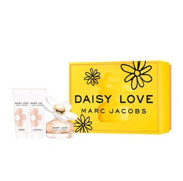 Marc Jacobs Daisy Love zestaw prezentowy woda toaletowa spray 50 ml + balsam do ciała 75 ml + żel pod prysznic 75 ml
