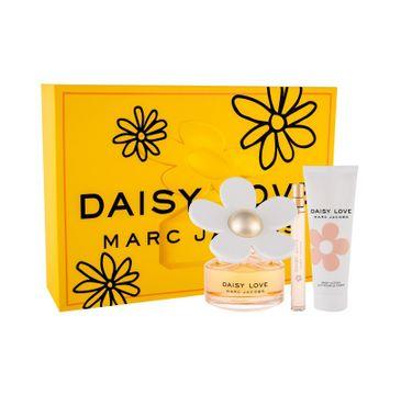Marc Jacobs Daisy Love zestaw woda toaletowa spray 100ml + miniaturka wody toaletowej 10ml + balsam do ciała 75ml