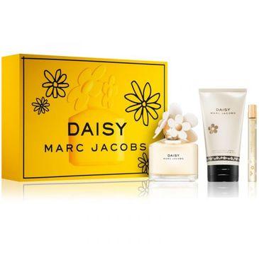Marc Jacobs Daisy zestaw woda toaletowa spray 100ml + miniaturka wody toaletowej 10ml + balsam do ciała 150ml