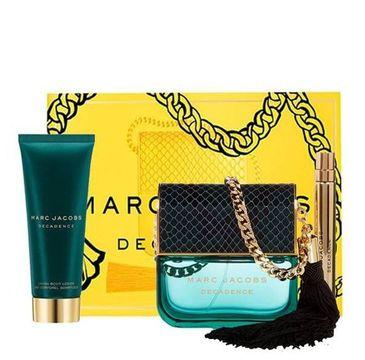Marc Jacobs Decadence zestaw prezentowy woda perfumowana spray 100 ml + perfumowany balsam do ciała 75 ml + miniatura 10 ml