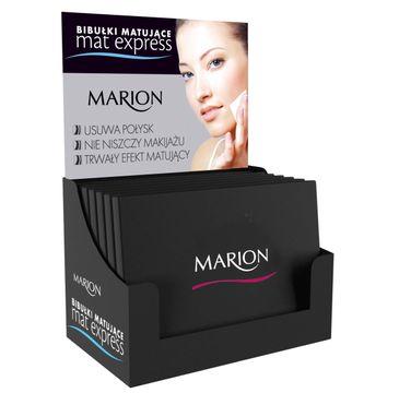 Marion Mat Express – bibułki matujące do twarzy (1 op.)
