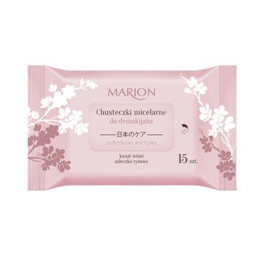 Marion – chusteczki micelarne do demakijażu Japoński Rytuał (1 op.)
