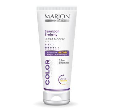 Marion Color Esperto – szampon srebrny ultra mocny do włosów blond, siwych i rozjaśnionych (200 ml)