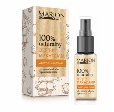 Marion Eco – olejek makadamia 100% naturalny (25 ml)