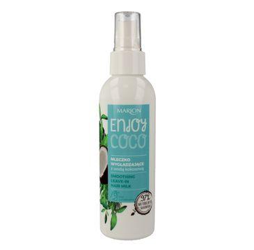 Marion Enjoy Coco – mleczko wygładzające do włosów z wodą kokosową (150 ml)